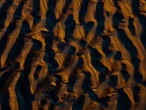 Couches de sable.