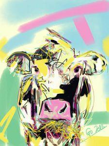 Vache Heureuse sur Go van Kampen