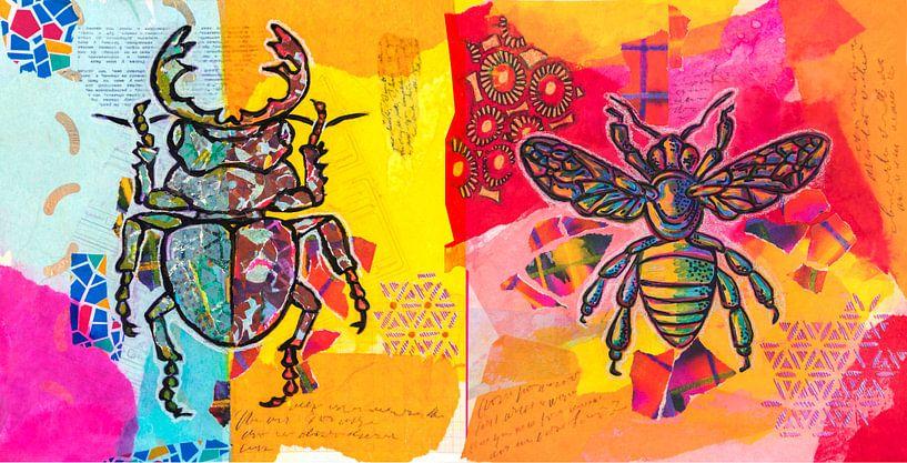 Insectes sur Ariadna de Raadt-Goldberg
