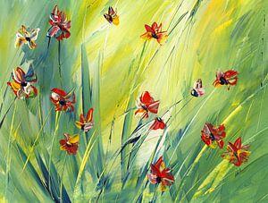 Wie die bunten Schmetterlinge