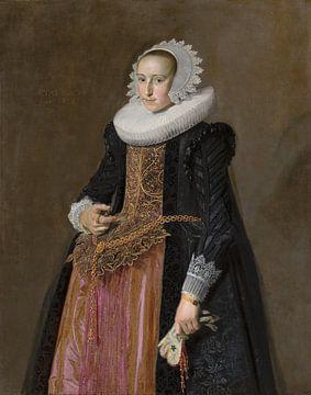 Portrait of Aletta Hanemans, Frans Hals