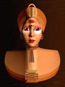 La Reine d'Or sur Ton van Hummel (Alias HUVANTO)