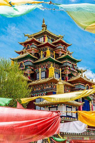 Het Surmang Namgyaltse Monastery in Modron. van