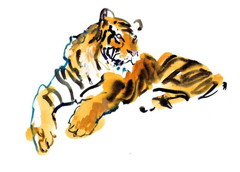Tigre sur Mark Adlington