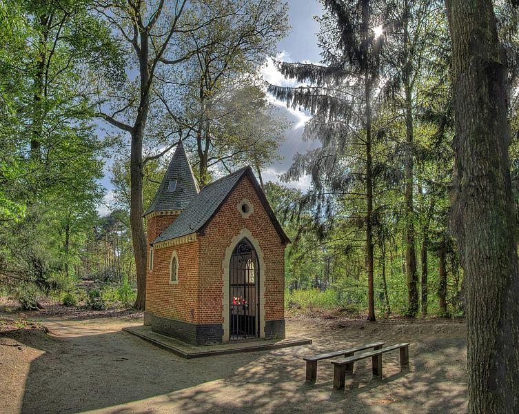 Kapelleke Van De Dreef Te Vorselaar , Belgie van Rens Marskamp