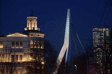 Het Wereldmuseum en de Erasmusbrug van Ronald Kleine