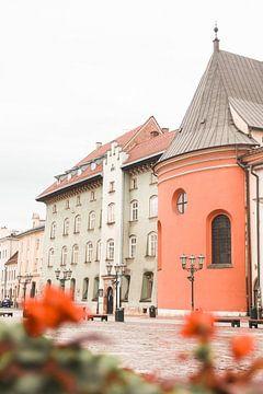 Farbige Straße in Breslau, Polen von Henrike Schenk