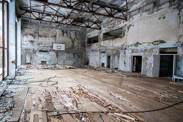 Verlassene Sporthalle von Julian Buijzen