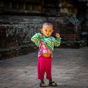 Kind in Myanmar van Aad de Vogel