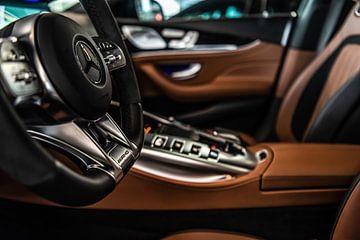 Interieur Mercedes-AMG GT van Bas Fransen