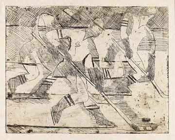 Eishockeyspieler, ERNST LUDWIG KIRCHNER, 1935 von Atelier Liesjes