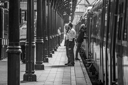 Station Groningen, Afscheid