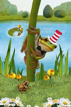 Mein lustiger Frosch Fridolin