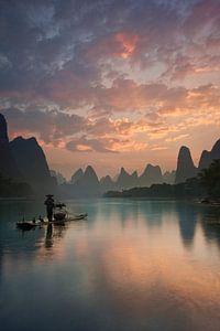 Li River Sunrise, Yan Zhang