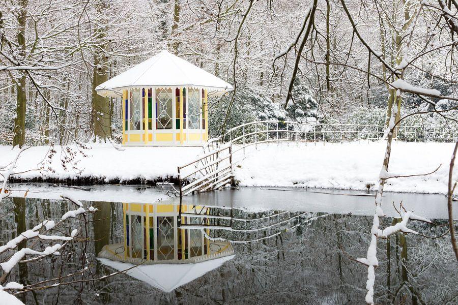 Landgoed Elswout in de winter van Michel van Kooten