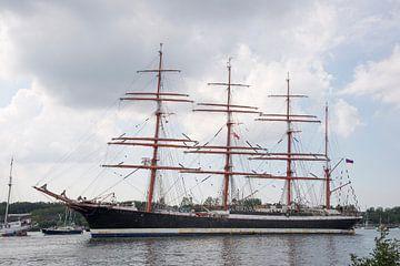 Tallship Sedov - Sail Amsterdam van Barbara Brolsma