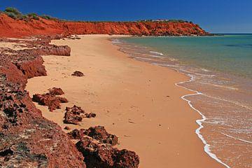 kustlijn van het Francois Peron N.P. in Australië von Antwan Janssen