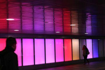 Ontmoeting in treinstation van John Ploeg