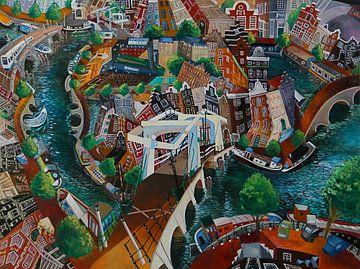 Amsterdam Magere brug van Jeroen Quirijns