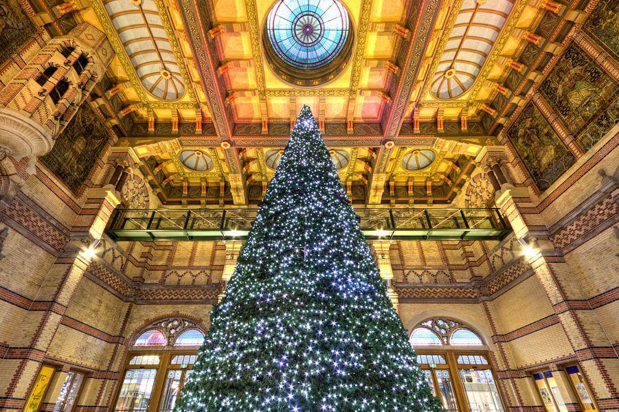 Kerstboom Stationshal Groningen