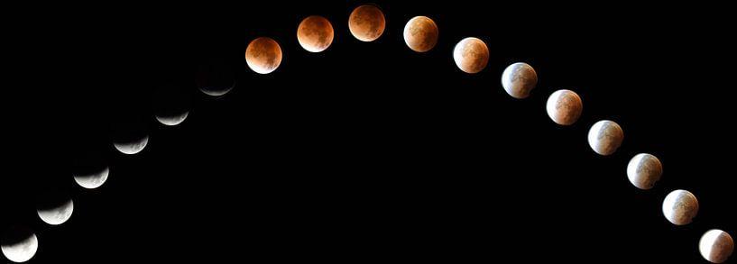 Eclipse Timelapse van Digital Universe