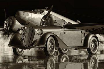Alfa Romeo 6C 2300 Pescara Sportwagen aus den dreißiger Jahren