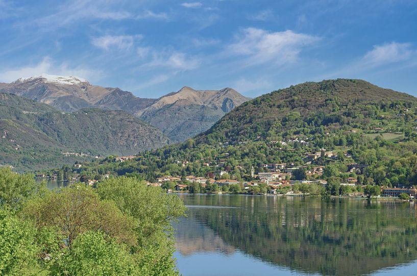 der Ortasee im Piemont,Italien von Peter Eckert