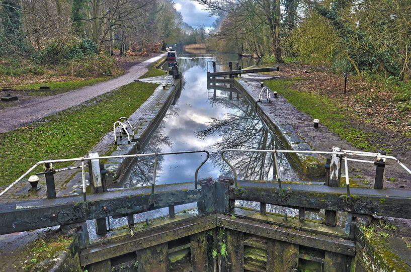 Iron Bridge Lock van Frans Blok