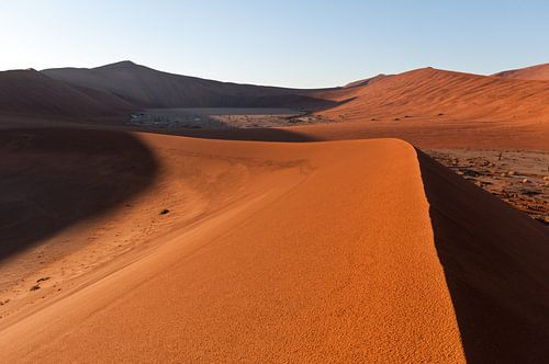 Highest sand dunes of the world van