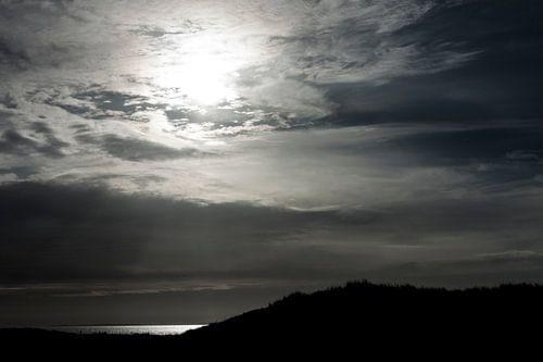 Zonsondergang Normandie