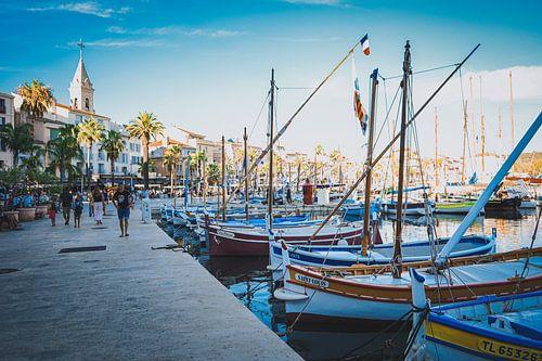 Zomer in de haven (Provence, Frankrijk)