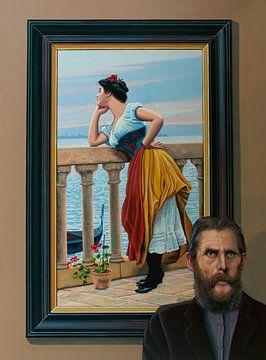 Eugene de Blaas Malerei von Paul Meijering