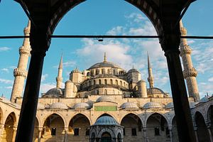 Blauwe Moskee Istanbul van