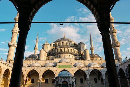 Blauwe Moskee Istanbul van Ali Celik
