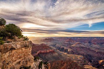 Sunset Grand Canyon von Corinne Cornelissen-Megens