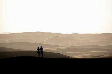 Sanddünen in der Sahara von The Book of Wandering