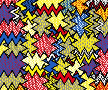 Kleurrijk Art Abstract