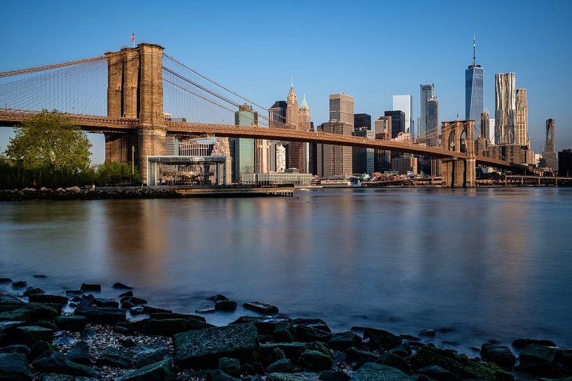 Brooklyn Bridge, New York City van Eddy Westdijk