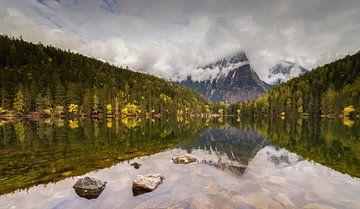 Herfst reflectie. van Ronald Bergkamp Nature Photography