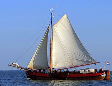 Zeilschip  van Joke Schippers