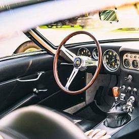 Lamborghini 350 GT klassieke Italiaanse sportwagen interieur van Sjoerd van der Wal