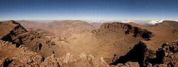 Panorama Simien Mountains, Ethiopie van