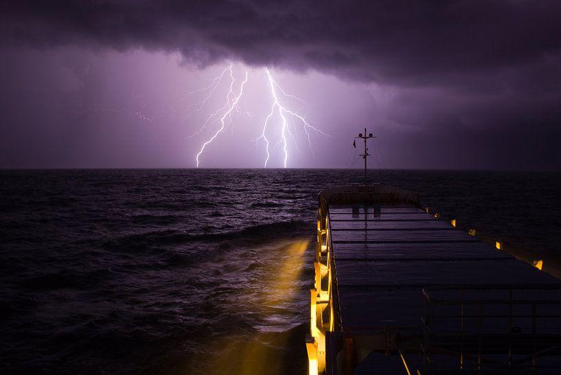Filia Ariea in onweersbui. van KO- Photo