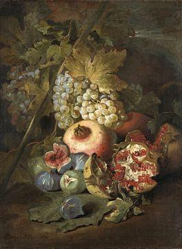 Stilleven met vruchten, Abraham Brueghel