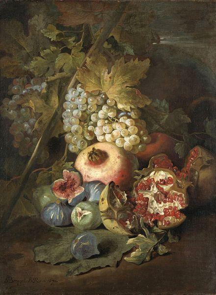 Stilleven met vruchten, Abraham Brueghel von Meesterlijcke Meesters