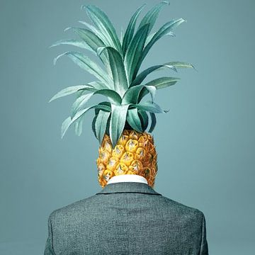 Pineapple Sadness van Marja van den Hurk