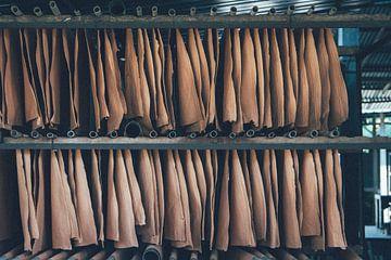 Papierfabriek in Sri Lanka van Karlijne Geudens