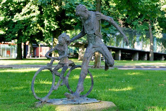 Groningen / Straatkunst / Fietsles / 2012