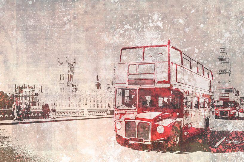 City-Art London Red Buses van Melanie Viola