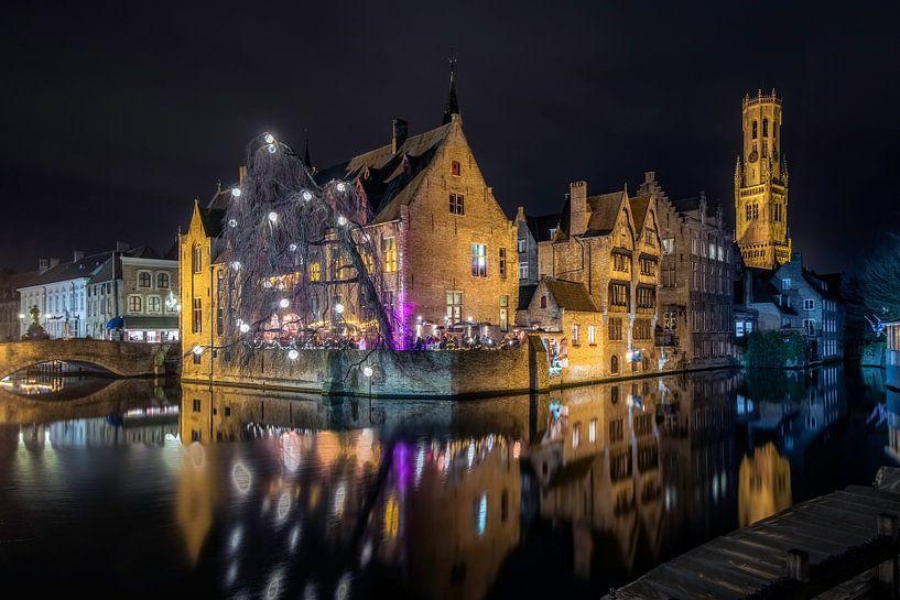 Brugge Wintergloed van Urban Relics